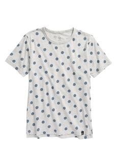 Treasure & Bond Relaxed Dot Print T-Shirt (Little Boy & Big Boy)