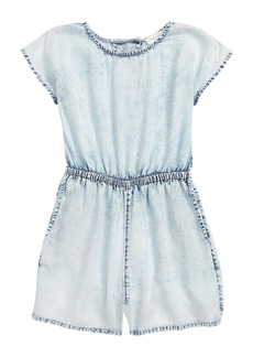 Treasure & Bond Kids' Soft Indigo Romper (Big Girl)