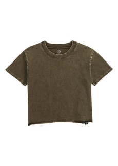 Treasure & Bond Kids' Washed Crop T-Shirt (Big Girl)
