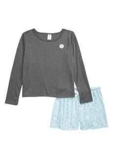 Treasure & Bond Tucker + Tate Cozy Pajamas (Little Girl & Big Girl)