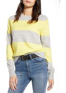 Treasure & Bond Wide Stripe Crewneck Sweater