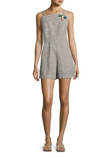 Trina Turk Acai Sleeveless Striped Romper