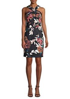Trina Turk Ace Floral-Print Sheath Dress