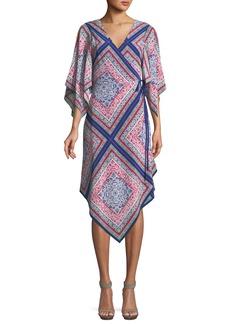 Trina Turk Alannah Wrap Dress in Meet Me in Malibu