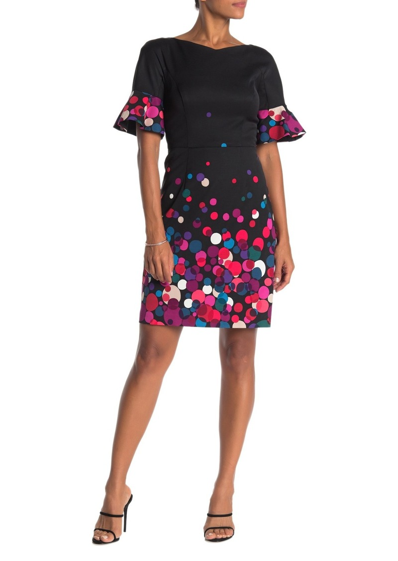 Trina Turk Amaretto Dot Print Dress