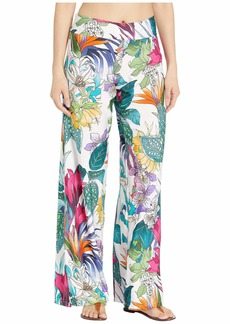 Trina Turk Amazonia Roll Top Pants Cover-Up