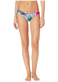 Trina Turk Amazonia Shirred Side Hipster Bottoms