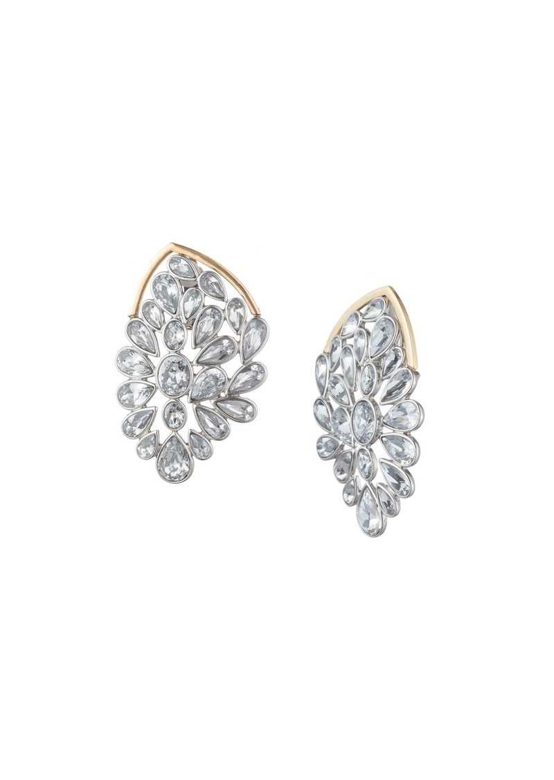 Trina Turk ANOTHER ROUND STONE CLUSTER STATEMENT STUD EARRING