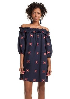 Trina Turk anthurium dress