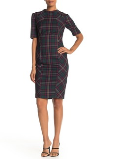 Trina Turk Apertif Plaid Shift Dress