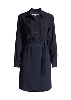 Trina Turk Arlisa Pintuck Shirtdress