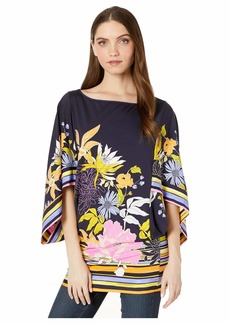 Trina Turk Bal Harbour Floral Tunic Top