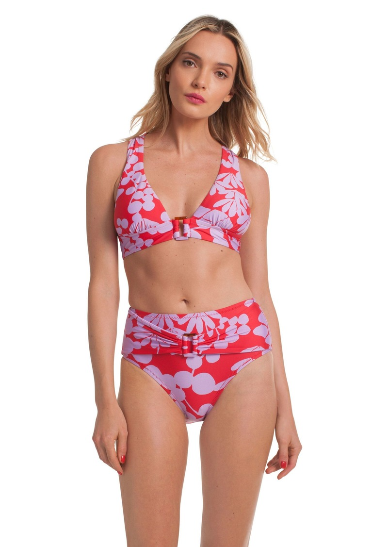 Trina Turk BALI BLOSSOMS HIGH WAIST BOTTOM