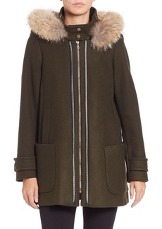 Trina Turk Becrux Two-In-One Coat