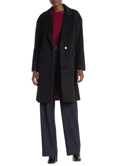 Trina Turk Bianca Wool Blend Walker Coat
