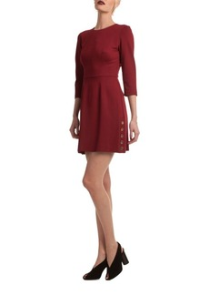 Trina Turk Button Side Mini Dress