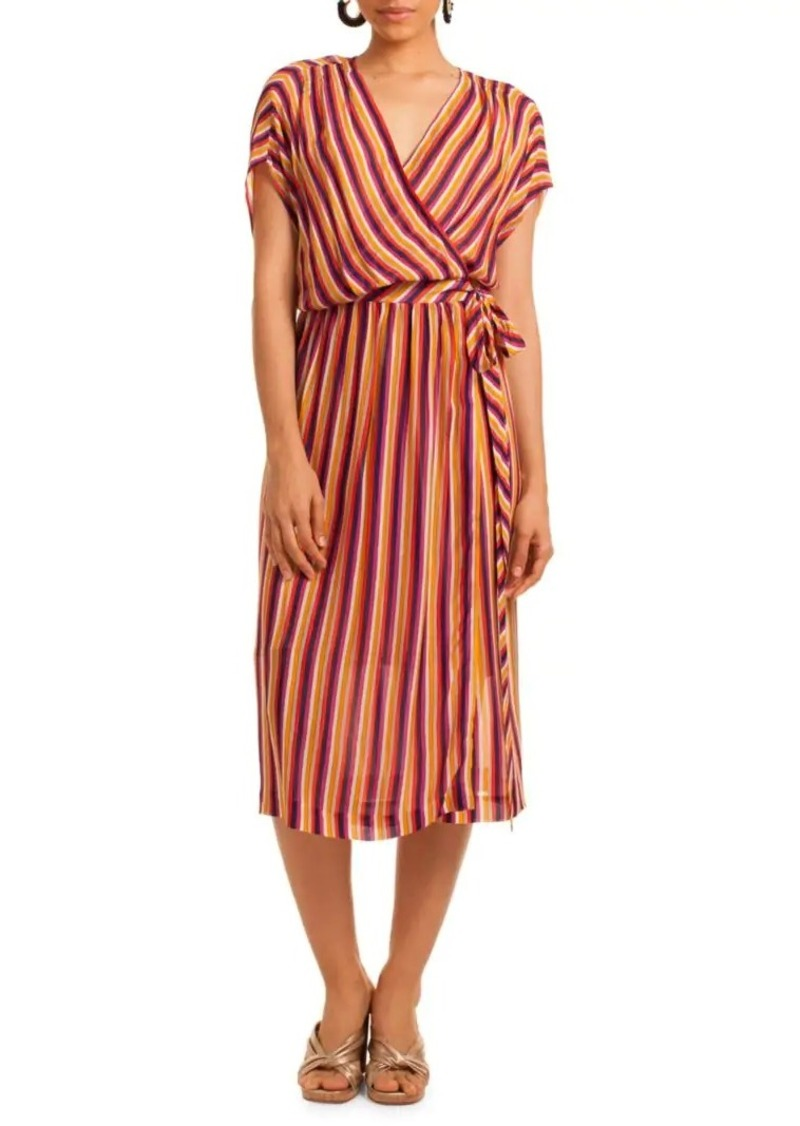 Trina Turk California Dreaming Chiapas Wrap Dress