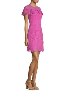 Trina Turk California Dreaming Copper Lace Mini Dress