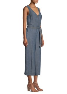 Trina Turk California Dreaming Palo Alto Chambray Jumpsuit