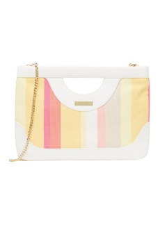Trina Turk Canvas Clutch Bag