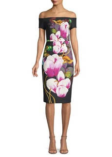 Trina Turk Casa Mexico Ruby Floral Dress