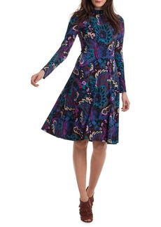 Trina Turk Casa Mexico Tia Rosita A-Line Dress