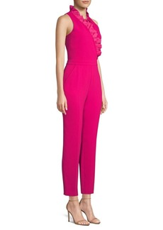 Trina Turk Cocktail Soiree Lady Ruffled Jumpsuit