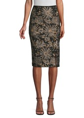 Trina Turk Cocktail Soiree Southern Comfort Pencil Skirt