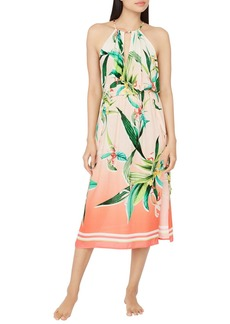 Trina Turk Costa De Prata Printed Dress