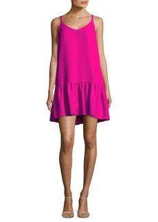 Trina Turk Crepe Drop-Waist Dress