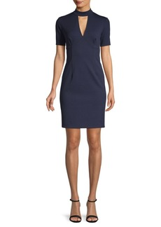 Trina Turk Cutout Mini Shift Dress