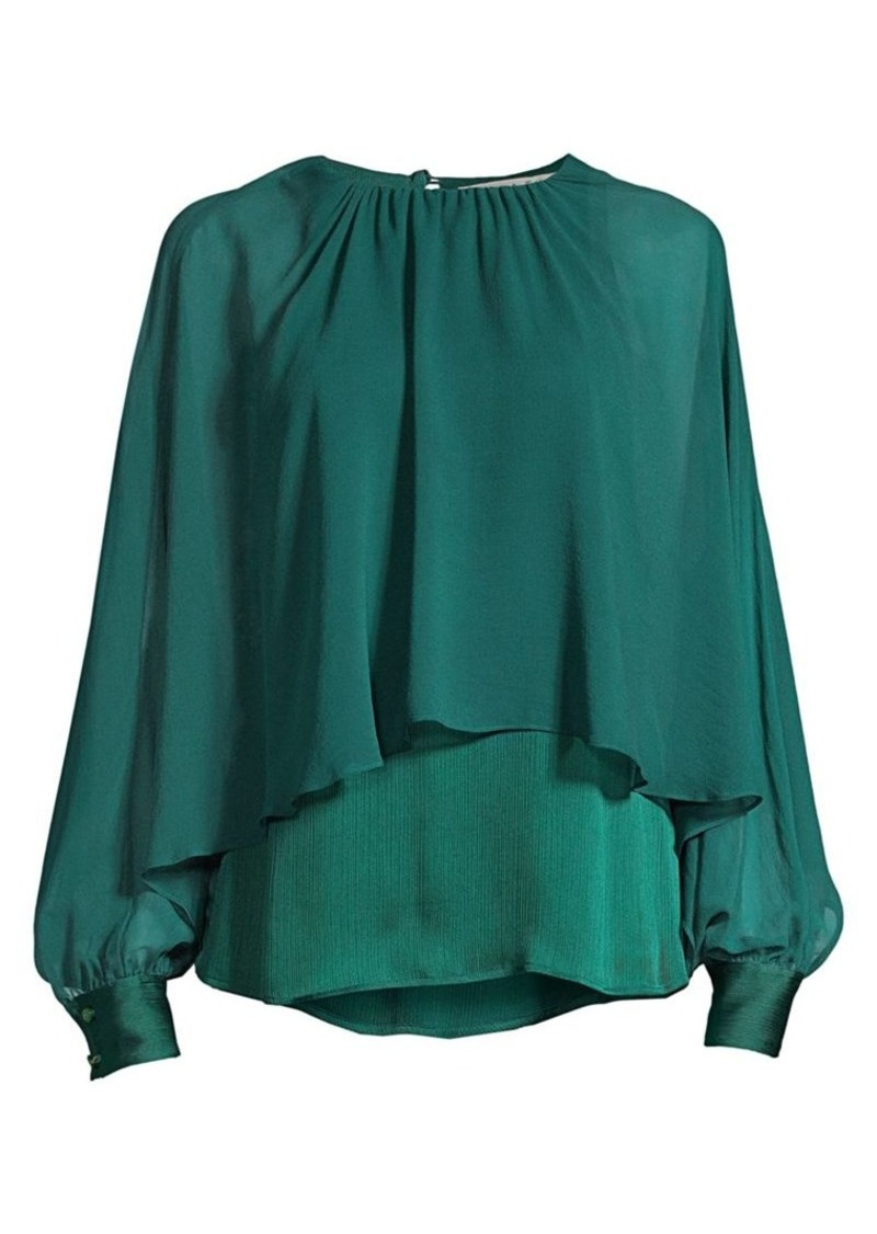 Trina Turk Eastern Luxe Preston Layer Blouse