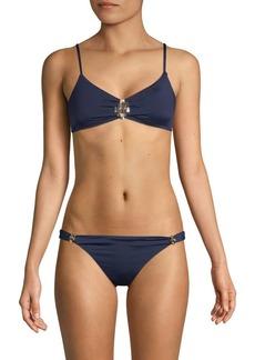 Trina Turk Embellished Bikini Top