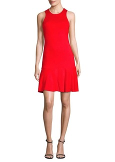 Trina Turk Fantastic Ribbed Knit Dress