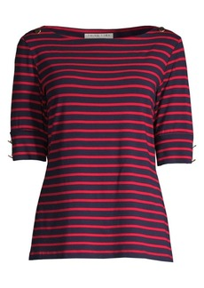 Trina Turk Fantasy Island Carlotta Striped Top