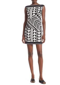 Trina Turk Felana Geo Print Mini Dress