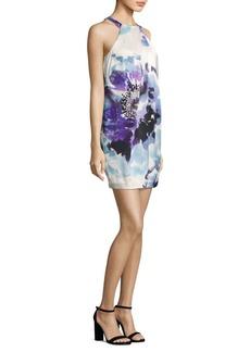 Trina Turk Felisha Halter Print Dress