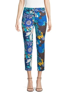 Trina Turk Found In Translation Floral Chino Pants