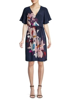 Trina Turk Found in Translation Lucy Wrap Dress