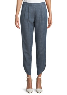 Trina Turk Fulton Pull-On Pleated Pants