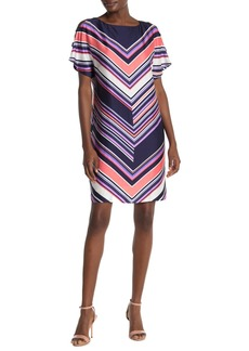 Trina Turk Golden Glades Stripe Shift Dress