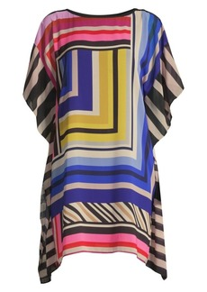 Trina Turk Grape Vine Printed Caftan Dress