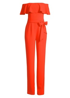 Trina Turk Guests Off-The-Shoulder Jumpsuit