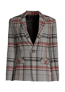 Trina Turk Habanero Plaid Jacket