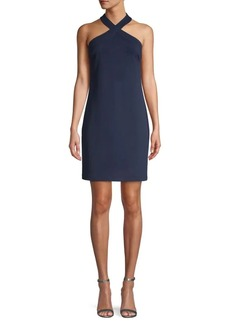 Trina Turk Halterneck Mini Dress