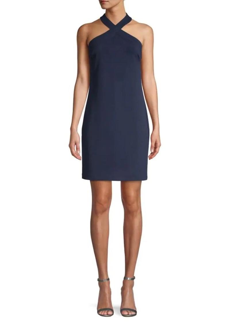 Trina Turk Halterneck Mini Dress