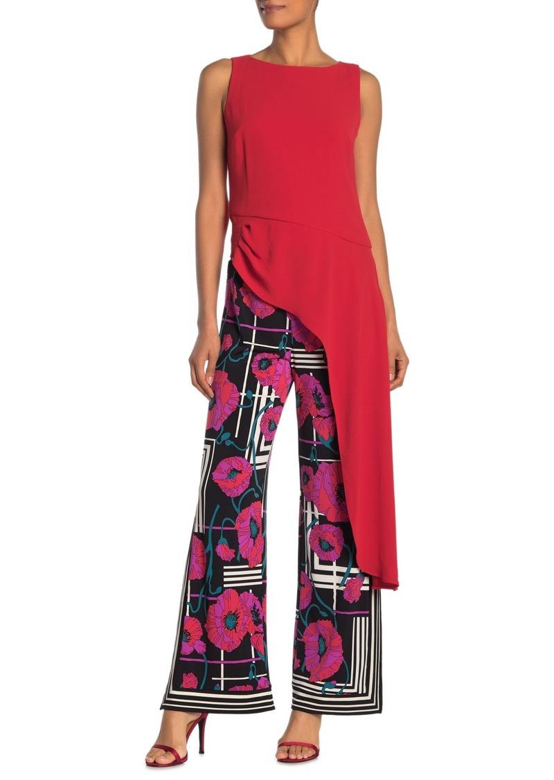 Trina Turk Harmony Asymmetrical Hem Shirt