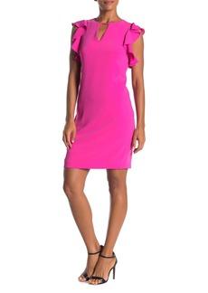 Trina Turk Hartley Ruffle Trim Dress