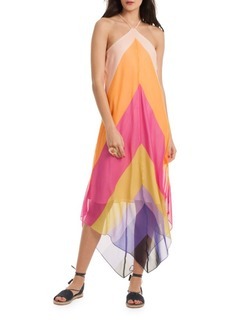 Trina Turk Hummingbird Silk Dress