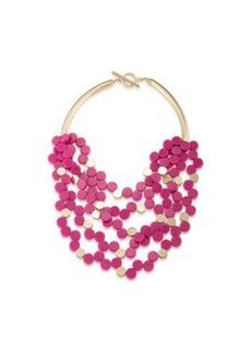 Trina Turk indian canyon multi strand necklace